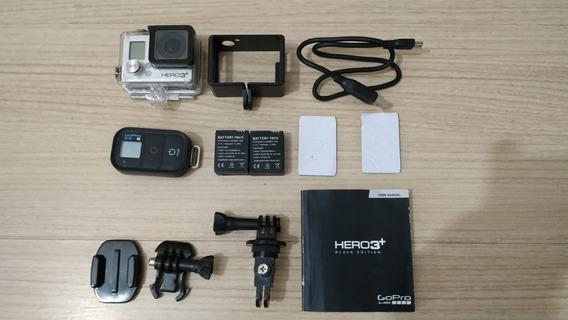 Gopro Hero 3+ Com 3 Baterias
