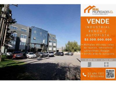 Propiedad Industrial Edificio Corporativo Y Bodega