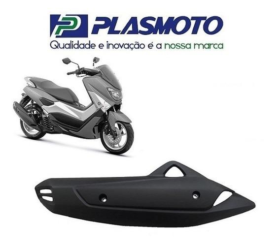 Protetor Do Escapamento Preto N-max 160 Plasmoto