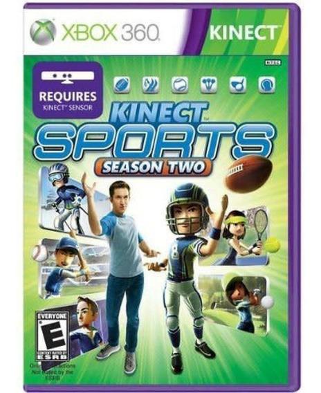 Game Xbox 360 Kinect Sports Season Two - Usado - Excelente