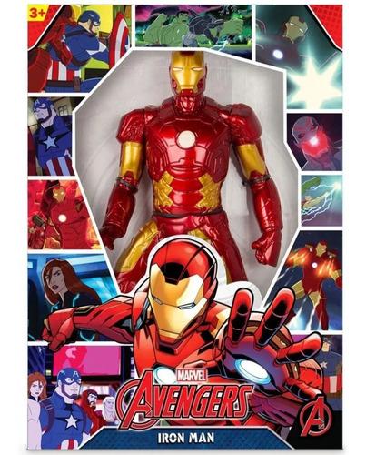 Boneco Iron Man Revolution 40cm 0515
