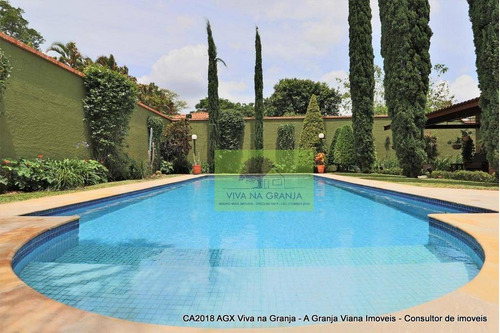 Imagem 1 de 30 de Casa Com 3 Dormitórios À Venda, 640 M² Por R$ 3.500.000,00 - Granja Viana - Carapicuíba/sp - Ca2018