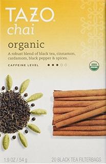 Tazo Tea Chai Org 19 Oz Paquete De 2