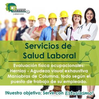Servicio/asesoría/ En Medicina Y Salud Ocupacional - Laboral