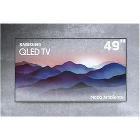 Smarttv Qled 49 4k Samsung 49q6fn Modo Ambiente Hdr1000 Únic