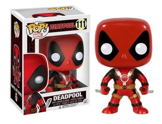 Deadpool Espadas 111 Funko Pop Marvel Espadas