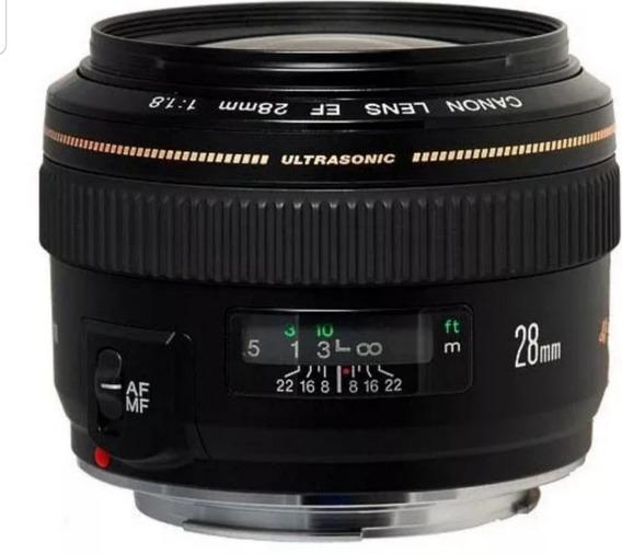 Lente Canon Ef28mm F/1.8 Usm
