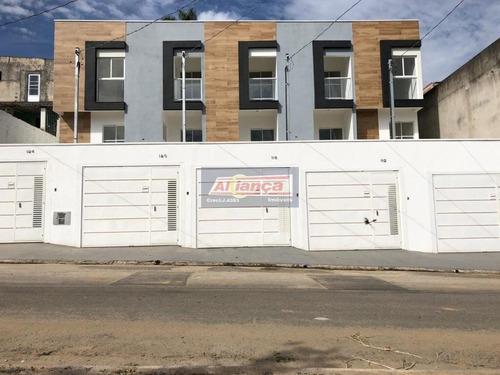 Sobrado Com 2 Dormitórios À Venda, 92 M² - Parque Residencial Scaffid Ii - Itaquaquecetuba/sp - Ai15277