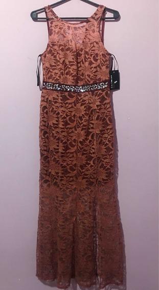 Vestido De Fiesta Mujer Importado Talle Xs