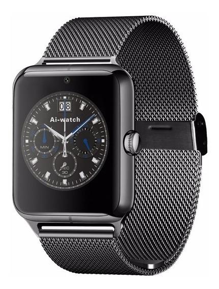 5 Smartwatch Z60 Reloj Inteligente De Lujo Envío Gratis!!!