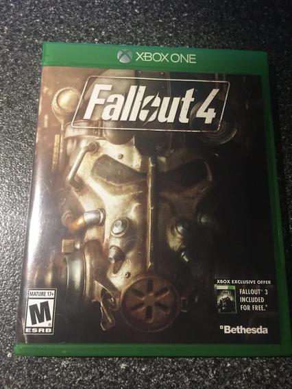 Fallout 4 - Mídia Física - Xbox One Novo Lacrado
