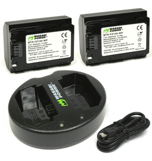 Batería Para Cámara Wasabi Power Para Sony Np-fz100 2 Pzas