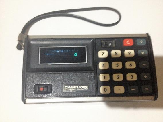 Mini Calculadora Casio Cm-602 (raridade)