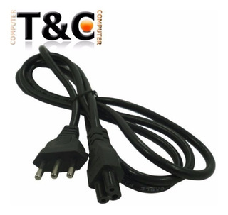 Cable Poder Tipo Trebol Para Cargador Conector Nacional 220v