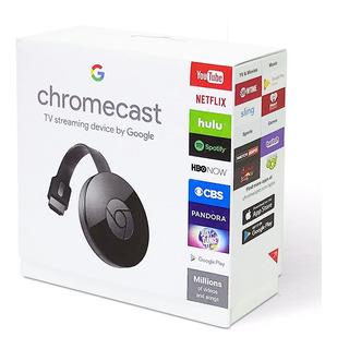 Chromecast 2 Caja Original + Netflix Flow +envio ! Fotos Videos Del Celular Al Tv Lcd Chrome Crome Cast + Envio Gratis
