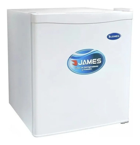 Imagen 1 de 3 de Heladera minibar James JN-50K blanca 42L 220V - 240V