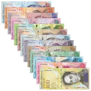 Cono Monetario Venezuela Numismatica Bolivares Todos Los Bsf