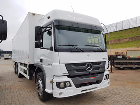 Mercedes-benz Atego 2430 6x2 2014 Obs: Valor No Chassi
