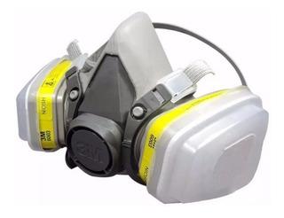 Mascara Respirador 3m Cartuchos Prefiltros Retenedores 6200