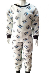 Pijama Infantil Flanelado Tam. 8/10/12 Múltiplas Estampas