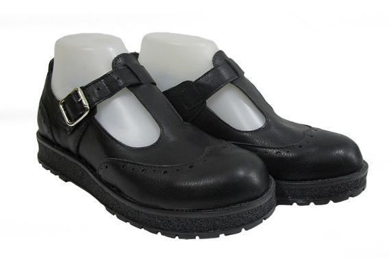 Zapato Colegial Para Dama Bardo