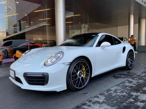 Porsche 911 2018 2p Turbo S Coupe H6/3.8/t Awd Pkd