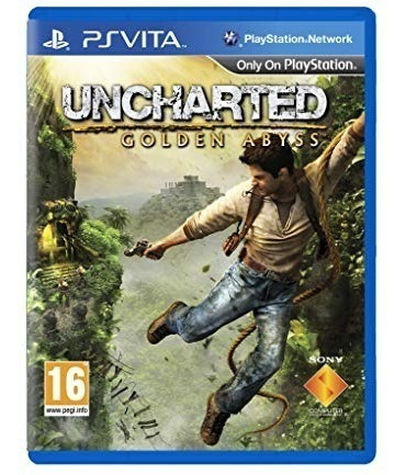 Jogo Uncharted Golden Abyss Psvita Original