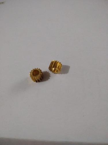 Engrenagem Do Micrométrico Microscopio Nikon E200. 2unid.