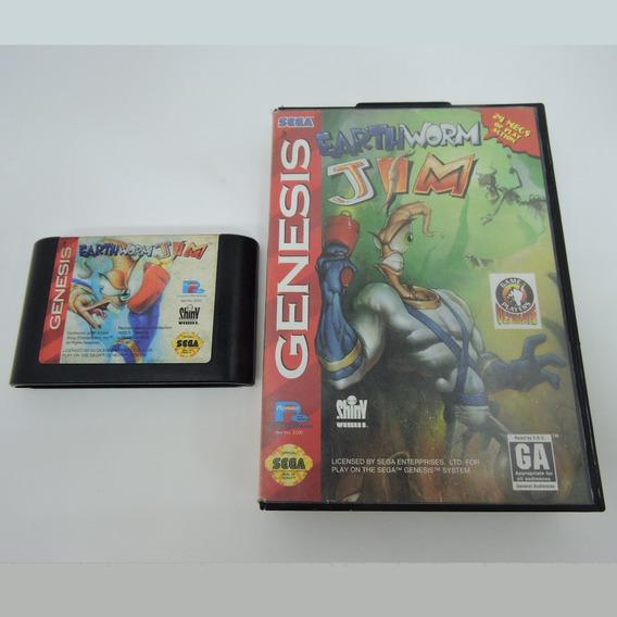 Earthworm Jim Original Mega Drive