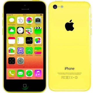 iPhone 5c 32gb Amarelo Câm 8mp (leia O Anúncio)