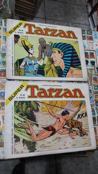 2 Hq Super Tarzan Em Italiano, De Edgar R Burroughs