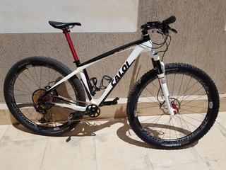 Caloi Elite Carbon / Sram Xx1 Eagle / Rodas Vzan Carbon