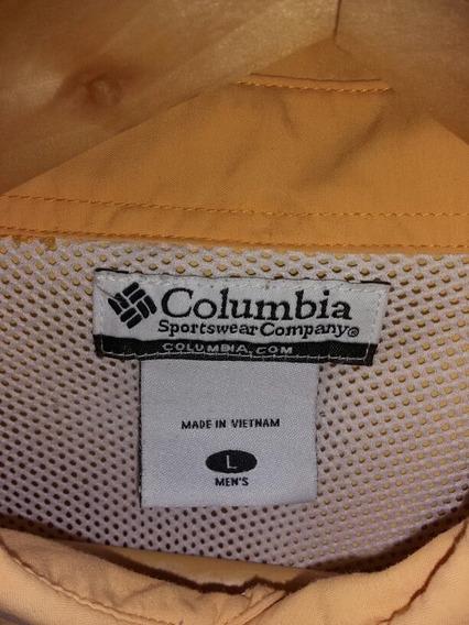 Camisa Columbia Original, De Caballero, Talla L