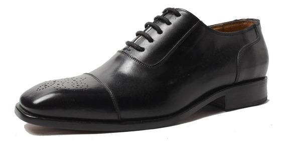 Zapato Democrata Hombre Suela De Cuero 883 Cuotas