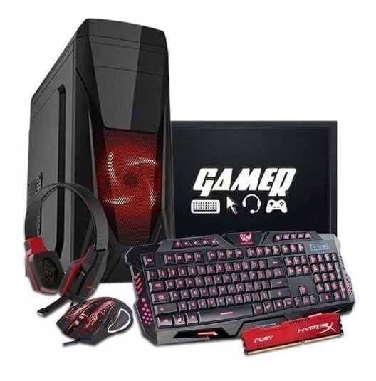 Pc Gamer Completo I5 - Gtx 1050 2gb - 8gb - 1 Tb - 27 Pol