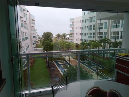 Imagem 1 de 30 de Apartamento Para Aluguel Em Condomínio Beira Mar In Mare Bal