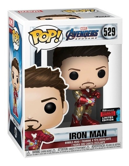 Funko Pop! Iron Man #529 Nycc Fall Convention C/protector