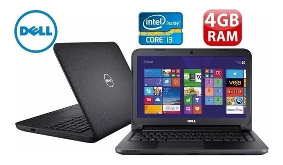 Notebook Dell Inspiron | 4gb 500gb | Intel Core I3 | Usado