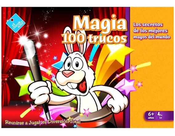 Juego De Magia 100 Trucos Duende Azul A Jugar 6015 Full