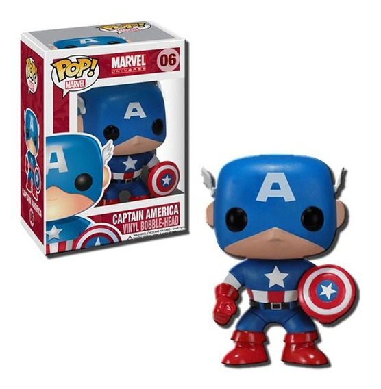 Funko Pop Marvel - Capitan America 06