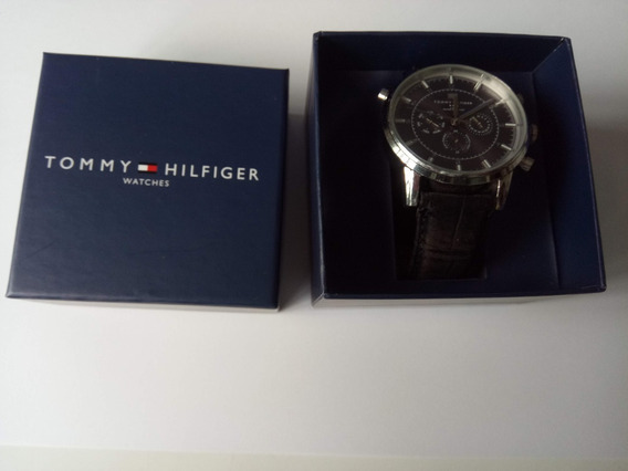 Relógio Tommy Hilfiger Original Masculino Pulseira Couro