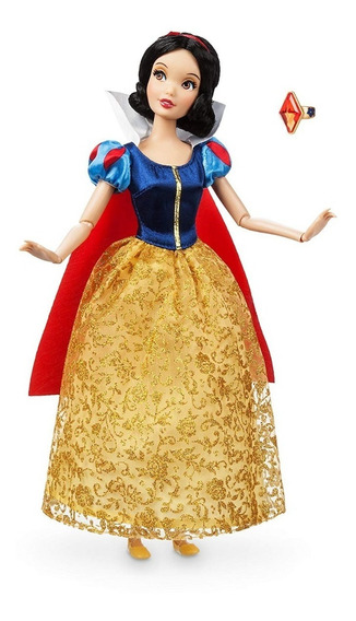 Branca De Neve Princesa Disney Boneca 30 Cm Original