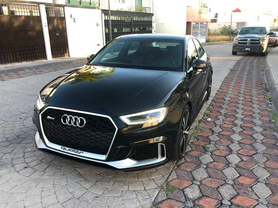 Audi Rs3 Negro Sedan