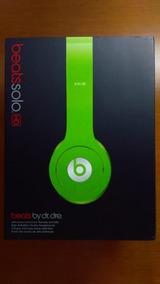 Headphone Beats Solo Hd Verde Com Caixa Completa E Cabos