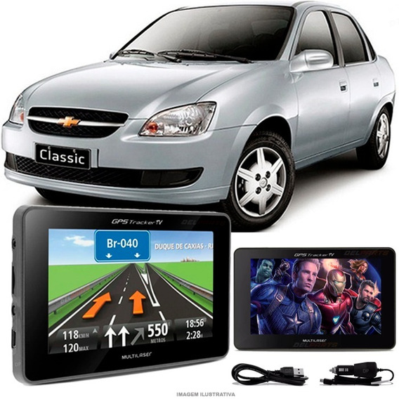 Gps Automotivo Gm Classic Tela 4.3 Voz Tv Digital Fm Oferta