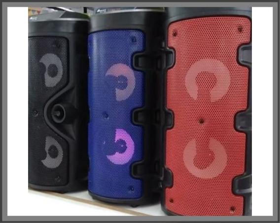 Caixa De Som A1-35s Avision Bluetooh Karaoke Rádio Aux Super