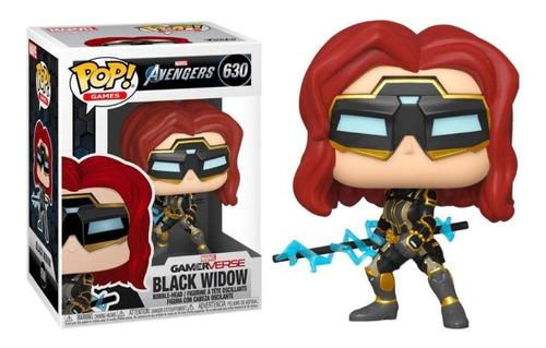 Funko Pop! Games - Avengers - Black Widow #630 Gamerverse