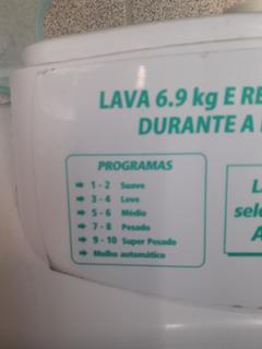 Lavadora Suggar Genesis 6,9kg