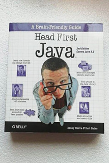 Libro Head First Java 2nd Edition Covers Java 5.0