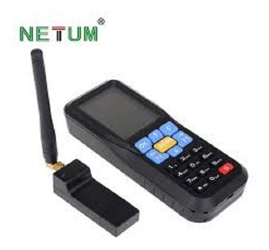 Coletor De Dados Nt-c6 Wireless Mini Handheld Cod Barras